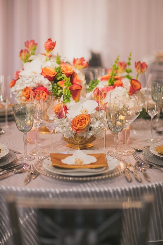 Chic Modern and Romantic Wedding by Premiere Party Central