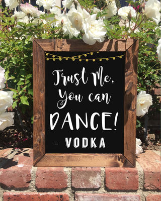 16 Pretty Wedding Signs On Etsy