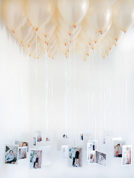 Balloon Chandelier DIY