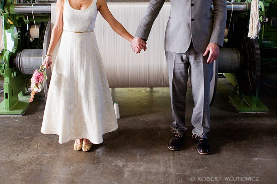 INDUSTRIAL THEMED (AMAZING AND UNIQUE) WEDDING AT THE TEXTILE FACTORY !