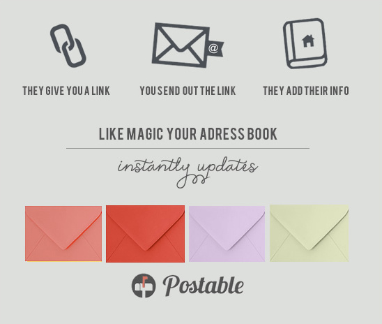 Gather All Your Mailing Addresses For Free With Postable