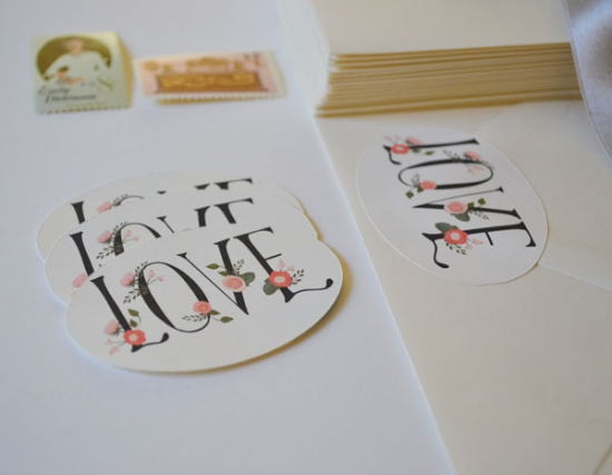 Whimsical Floral Finishes for your Wedding Stationery
