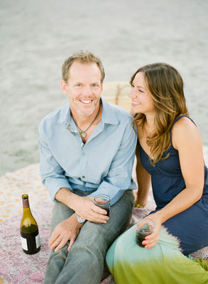 Beachside Engagement From White Loft Studio
