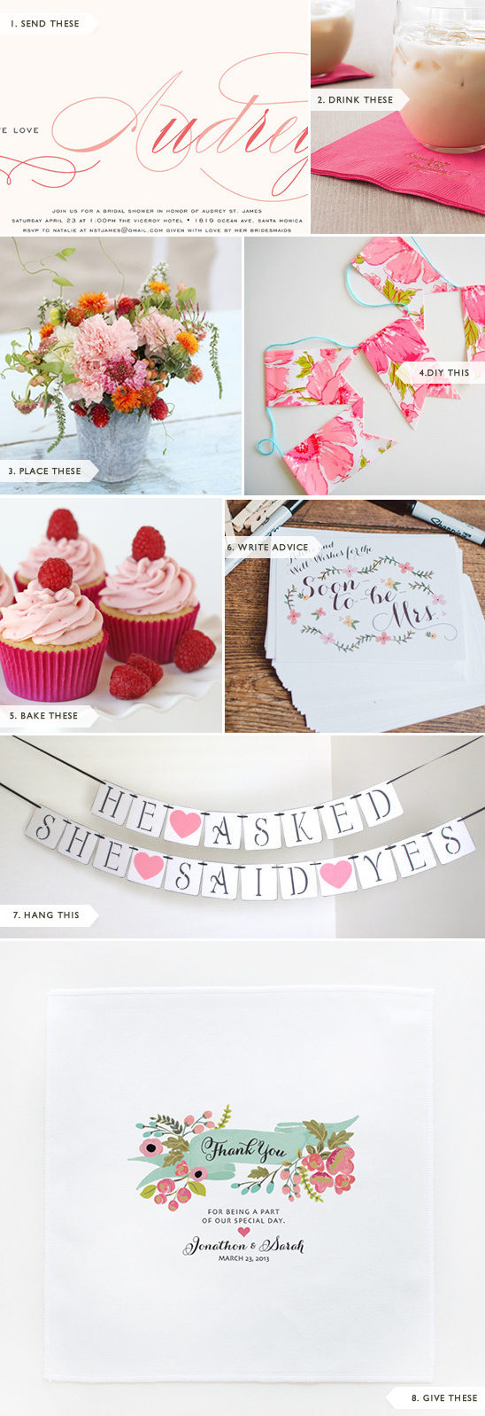 Easy Bridal Shower Ideas