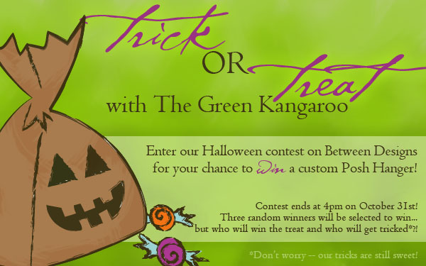A Trick or Treat Giveaway from The Green Kangaroo