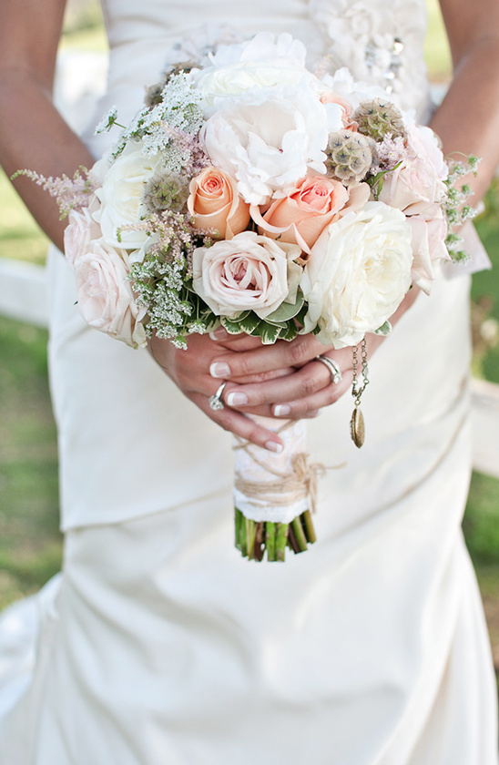 Peach Gray And White Wedding Ideas