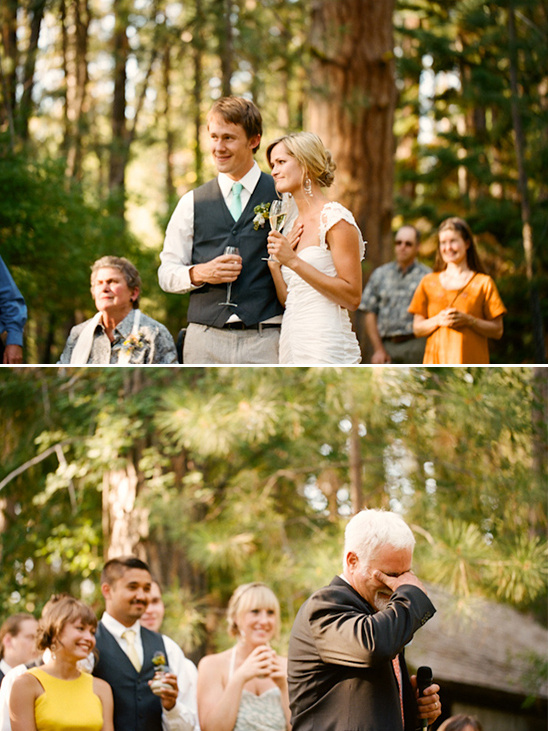 Colorful Outdoor Oregon Wedding