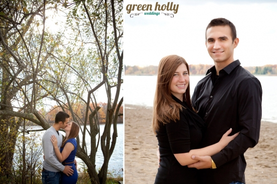 Fall Engagement Photos Stoney Creek Metropark