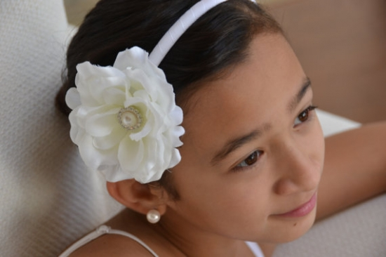 Flower Girls Wedding Headbands