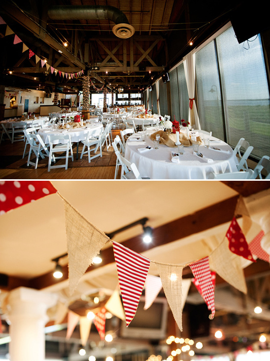 DIY Red And White Wedding