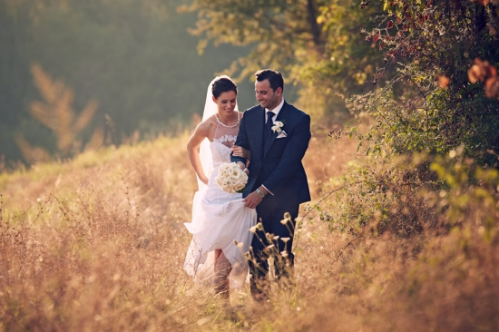 Rustic Chic Tuscan Wedding