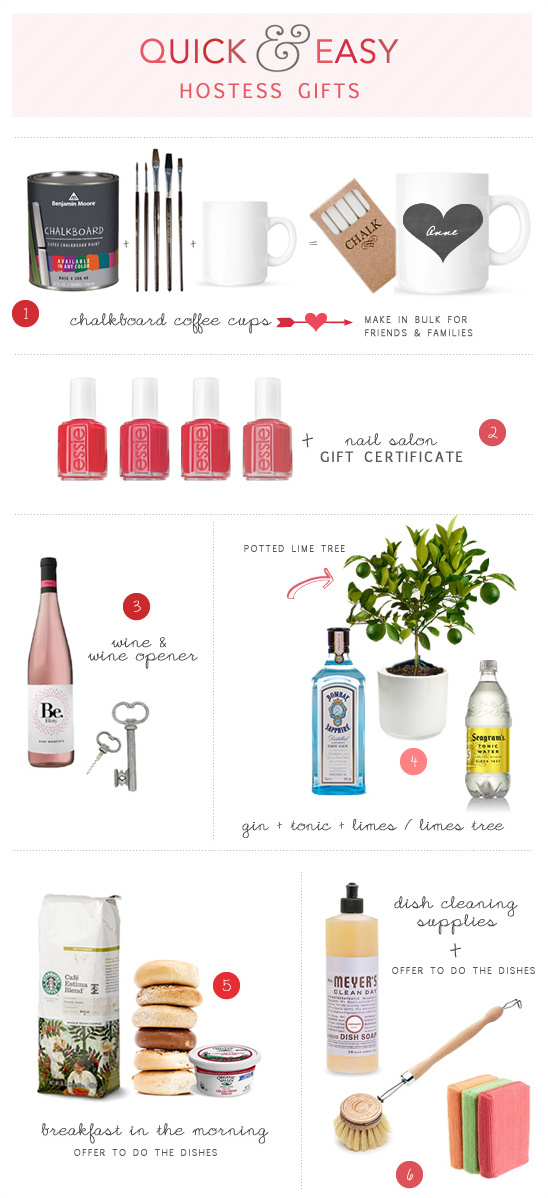 Quick And Easy Hostess Gifts