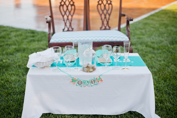 Central Coast Aqua And Poppy Wedding