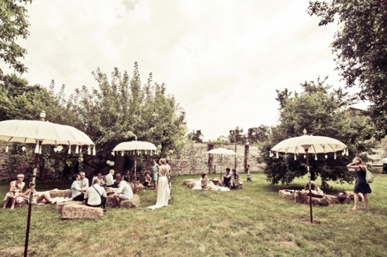 pic nic wedding in Italy