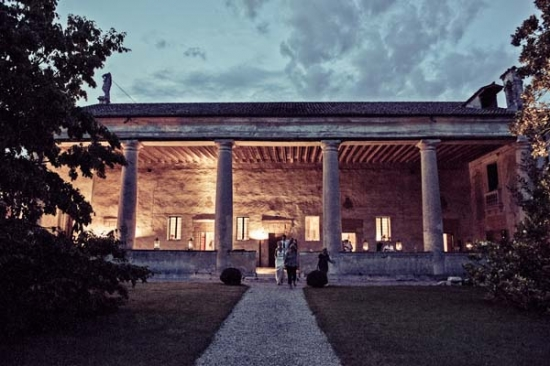 villa for wedding in veneto