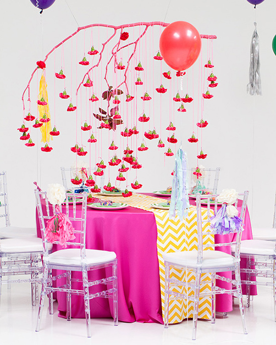 Colorful New Year's Eve Wedding Ideas