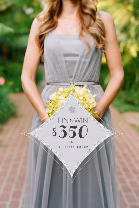 Wedding Chicks Pin It To Win It   $350 From Dessy