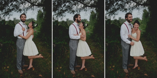 Monet-inspired lily pond wedding