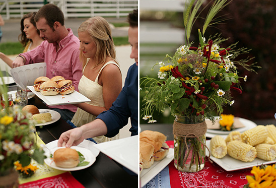 DIY BBQ Engagement Party
