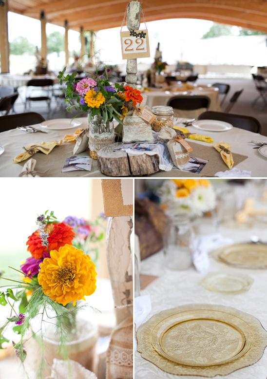 Pennsylvania Gray And Yellow Rustic Wedding