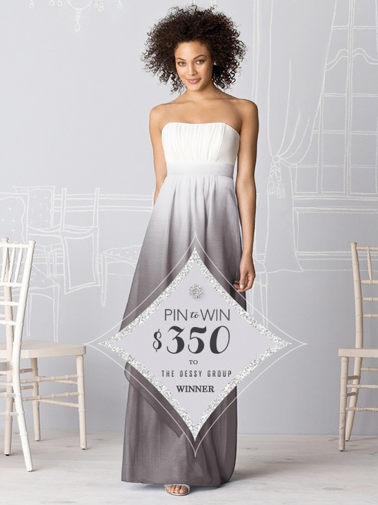 Wedding Chicks Pin It To Win It | $350 From Dessy Winner