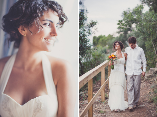 Rustic Bohemian Coastal Wedding