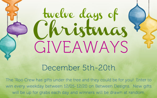 12 Days of Holiday Giveaways from The Green Kangaroo