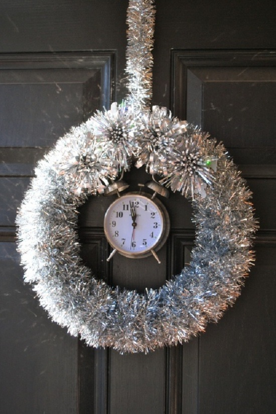 NYE wreath