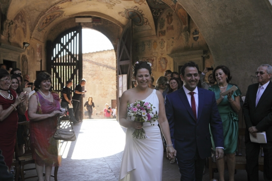 Rustic Romantic  Wedding in Tuscany