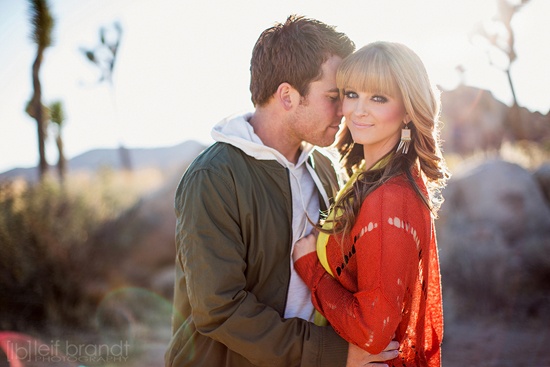 Joshua Tree Engagement Session - Leif Brandt Photography