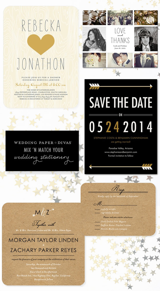 Win $300 To Wedding Paper Divas + New Wedding Stationery