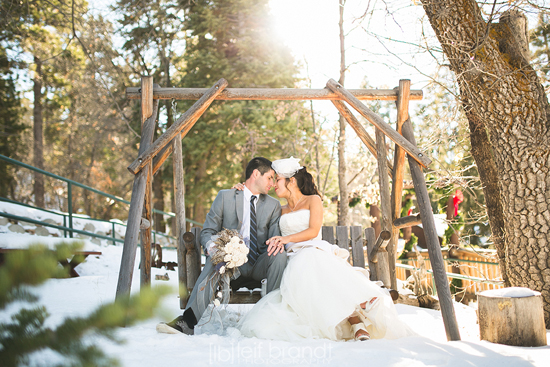 Winter Wedding - Big Bear, California