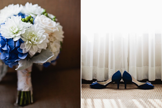 Blue and White Maritime Wedding