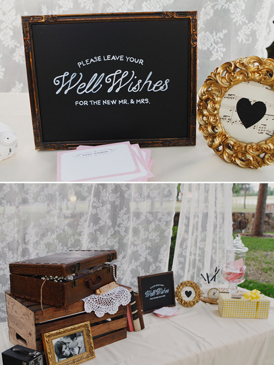 Florida Vintage Garden Shabby Chic Wedding