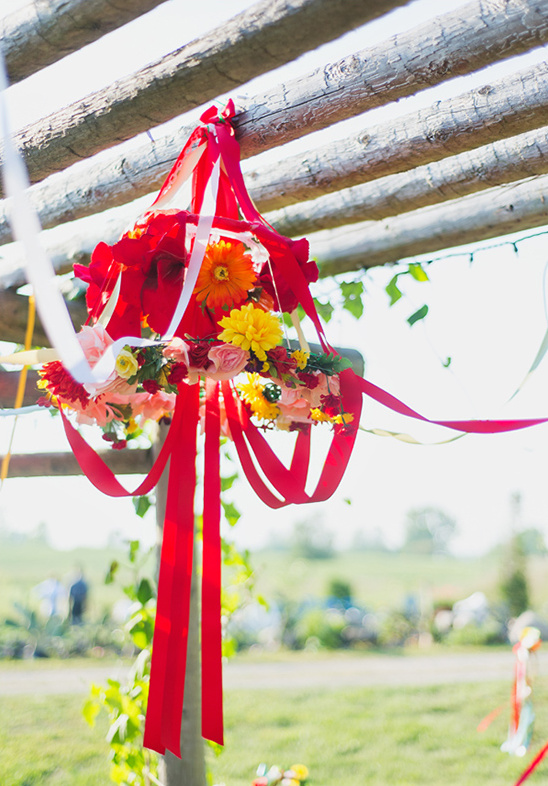 Handmade Organic Farm Wedding