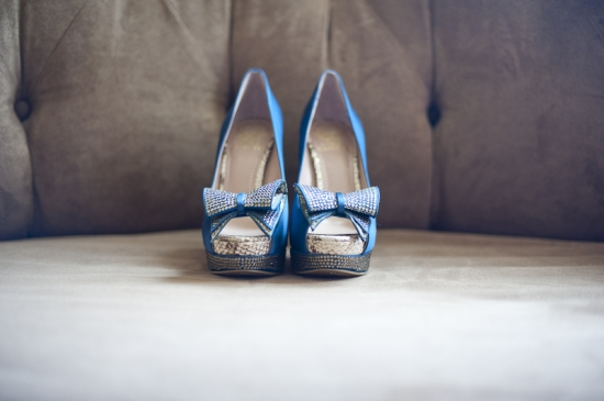A Romantic Blue & Silver Winter Wedding