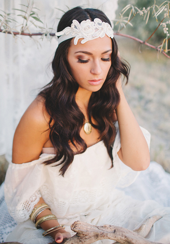 Tips on Styling A Bohemian Gypsy Bride