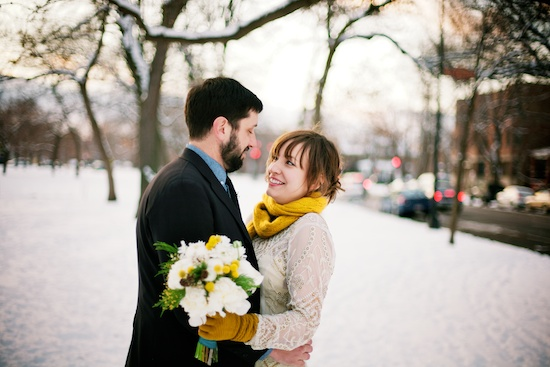 Snowy Winter Elopement - Bay Area Wedding Photographer