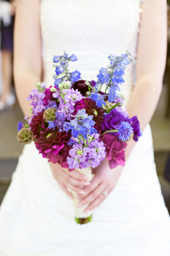 Coeur D'Alene Navy Blue and Purple Wedding