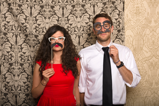 Tahoe Tree Company wedding - photo booth
