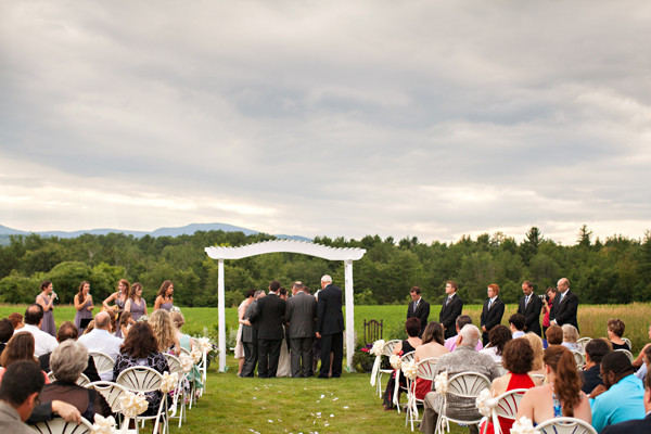 New Hampshire Wedding At Curtis Farm