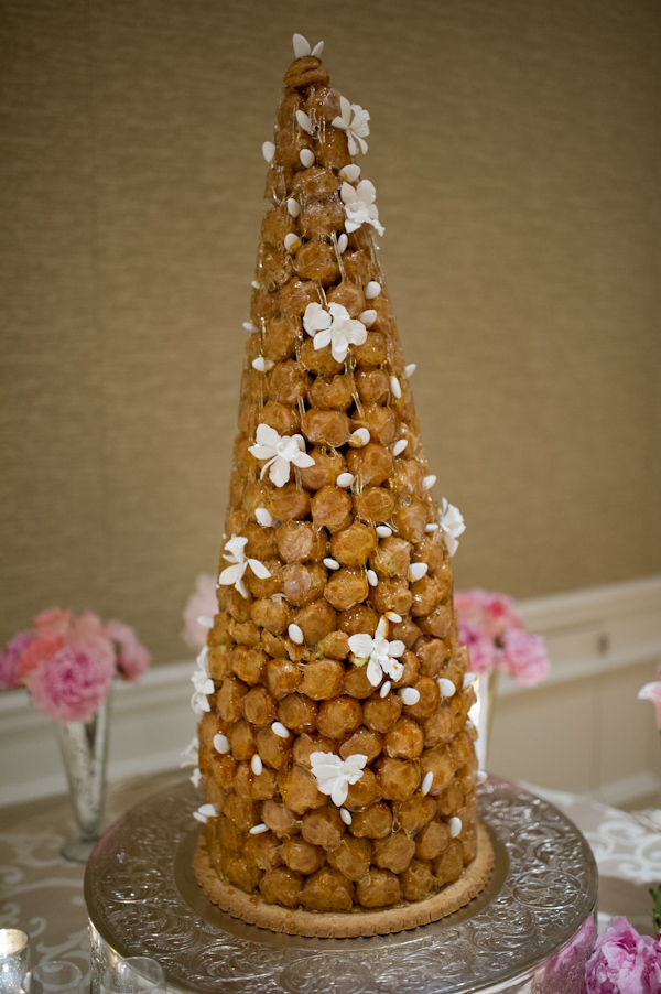 Croquembouche for Wedding
