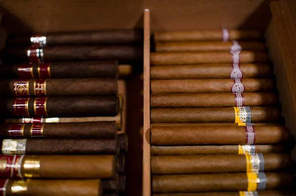 Cuban Cigars as Wedding Favors