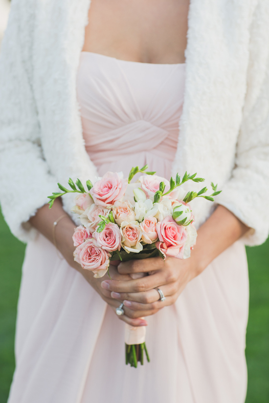 Elegant Outdoor Wedding, Ivory and Blush