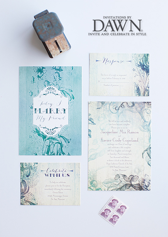 Stylish And Fun Wedding Invitations By Dawn