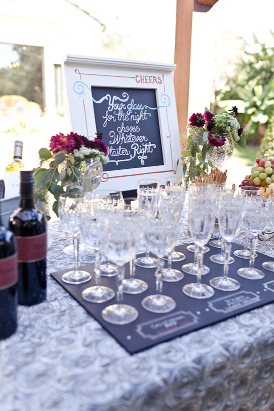 Custom Chalkboard Wedding Ideas