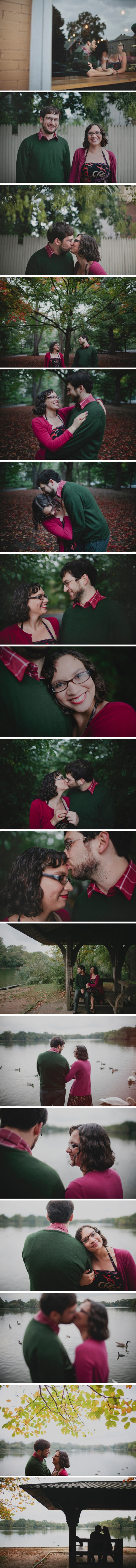 Donielle & Nate: Engaged in Brooklyn