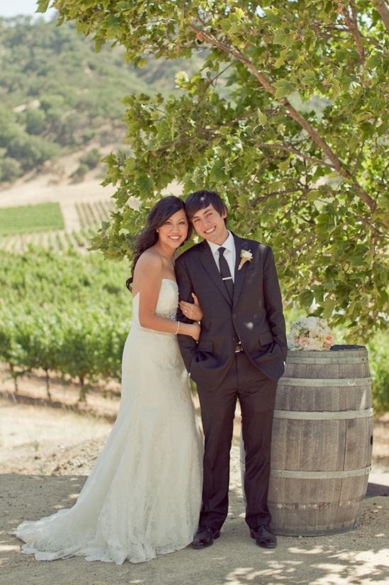 Winery Wedding At The Clos LaChance