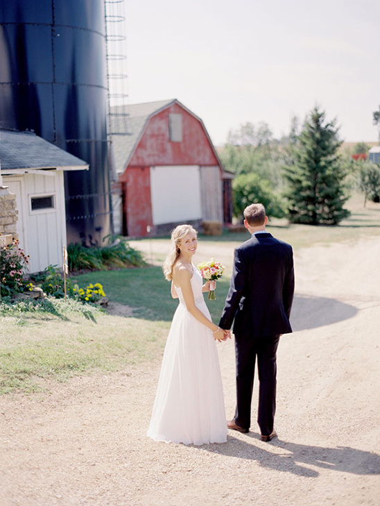 Fall Barn Wedding At Settlement Hill Farm