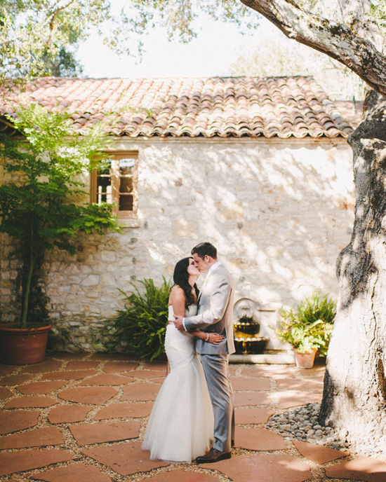 Pink and White Rustic Ranch Wedding